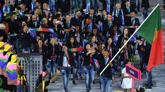A delegação portuguesa é formada por 92 atletas no Rio de Janeiro