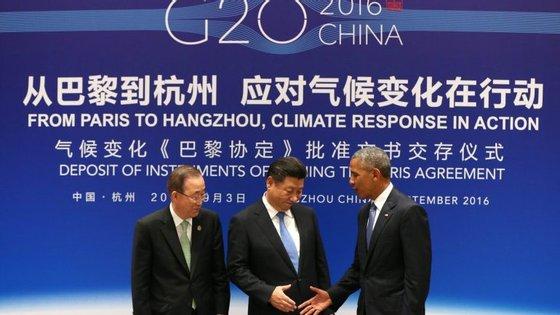 A cimeira ficará ainda marcada pela despedida de Barack Obama, que vai reunir-se pela última vez com Xi Jinping