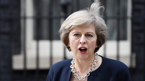 """Esta é a """"estreia"""" de Theresa May na cimeira do G20"""