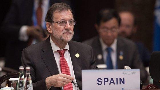A intervenção do líder do Partido Popular espanhol foi proferida dias depois de Rajoy ter visto fracassada a segunda votação de investidura