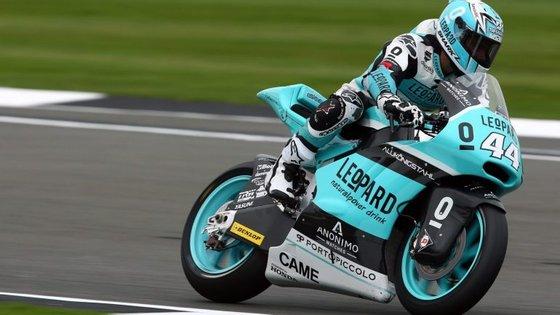 A próxima prova do Mundial de Moto2 disputa-se a 11 de setembro, em São Marino