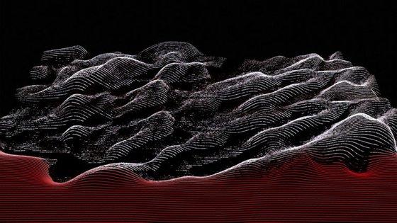 """Recorte da capa de """"Between Waves"""" dos The Album Leaf"""