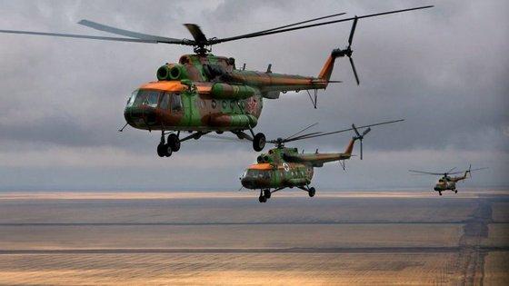 As Forças Armadas Angolanas integram cerca de 100.000 operacionais e contam com 53 helicópteros Mil Mi-8/17 e mais 15 Mil Mi-24/35