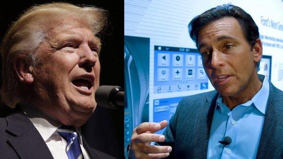 Mark Fields, CEO da Ford, acusou o candidato presidencial de distorcer a verdade