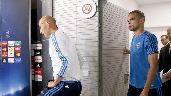 Pepe jogou em dois dos três jogos disputados pelo Real Madrid esta época