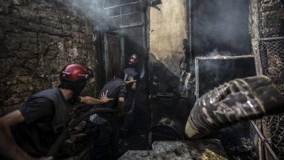20 civis e um elemento do Crescente Vermelho sírio morreram no ataque