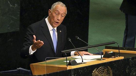 Marcelo Rebelo de Sousa saudou o acordo de paz alcançado entre o Governo colombiano e as Forças Armadas Revolucionárias