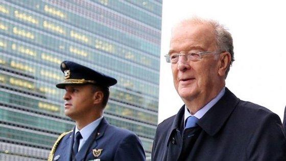 Jorge Sampaio acompanhou Marcelo Rebelo de Sousa em setembro numa visita a Nova Iorque, à Assembleia Geral da ONU