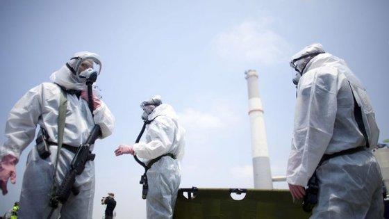 Entre janeiro e agosto, o país registou 232 acidentes químicos