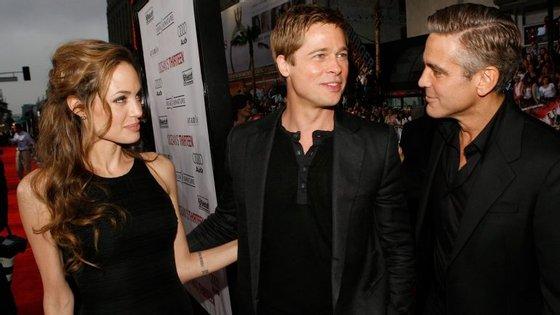 O ator George Clooney soube que o casal de amigos se divorciou através de um jornalista da CNN.