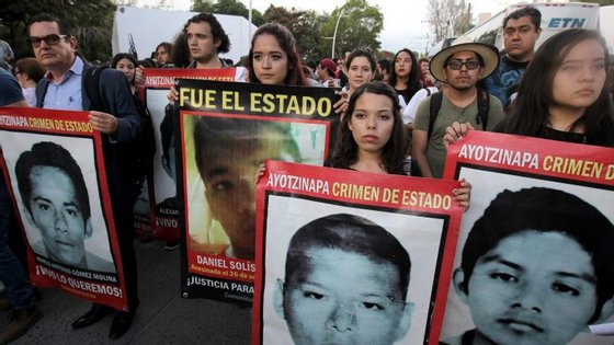 """""""Foram dois anos de dor e sofrimento"""", disse Felipe de la Cruz, porta-voz das famílias"""