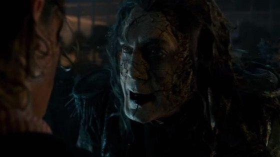 Javier Bardem é o novo vilão da saga, um capitão fantasma, velho rival de Sparrow