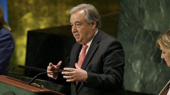 Guterres é o único candidato recomendado pelo Conselho de Segurança
