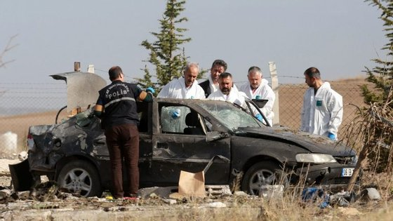 No sábado, as Forças Armadas turcas garantiram ter abatido oito guerrilheiros na mesma província