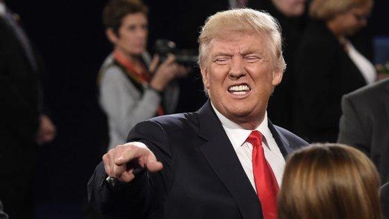 Donald Trump, candidato republicano a Presidente e boxeur nas horas livres