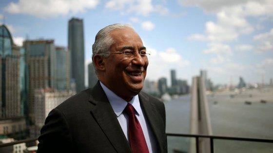 António Costa voltou a advogar a ideia de Macau como plataforma de ligação entre a China e os países de língua portuguesa
