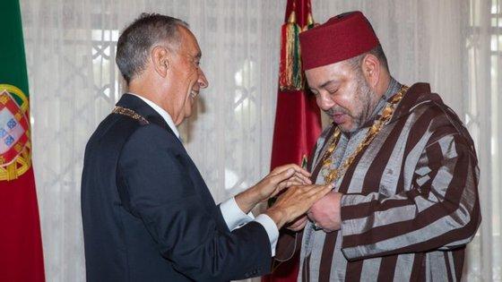 Marcelo Rebelo de Sousa visitou Marrocos a 27 de junho deste ano