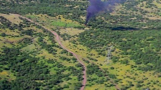 O helicóptero fazia um voo de reconhecimento a oito quilómetros da capital estadual de Ciudad Victoria