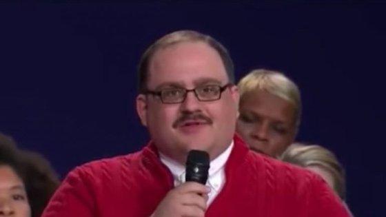 Ken Bone tem 34 anos e trabalha numa fábrica de carvão no estado do Illinois.