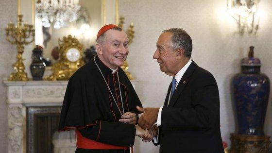 Marcelo lembrou que o Vaticano foi o primeiro destino que visitou depois de tomar posse como Presidente da República