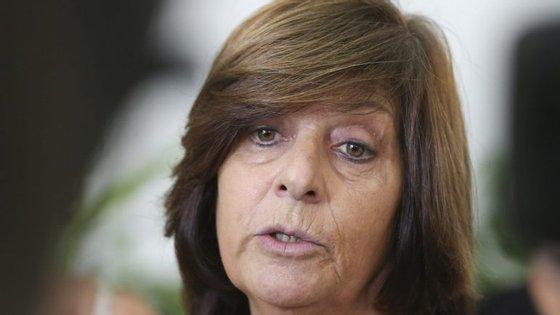 Ana Avoila, em declarações ao jornalistas sobre a primeira reunião negocial entre Sindicatos