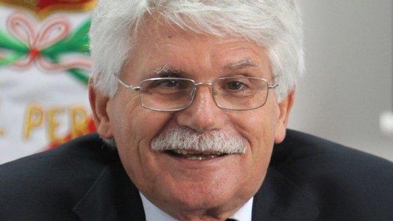 O constitucionalista e antigo cabeça de lista do PS nas Europeias, Vital Moreira