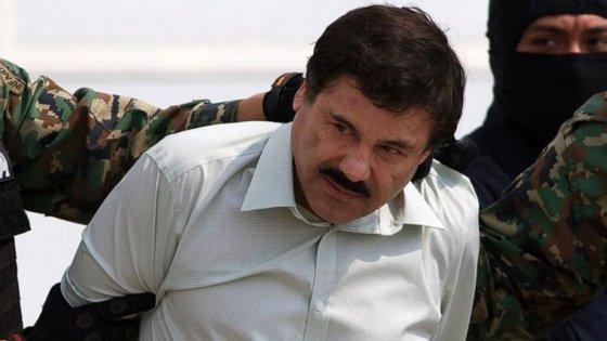 """O Governo mexicano pretende extraditar no início de 2017 para os Estados Unidos o narcotraficante Joaquín """"El Chapo"""" Guzmán"""