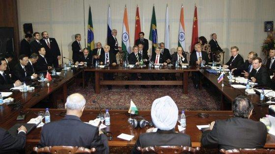 Cimeira dos BRIC em Brasília, abril de 2010