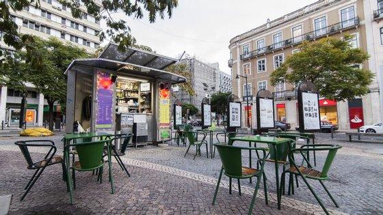 """O quiosque está neste local desde 2002, depois de a Câmara Municipal de Lisboa ter lançado um concurso para """"pessoas deficientes ou socialmente carenciadas"""""""