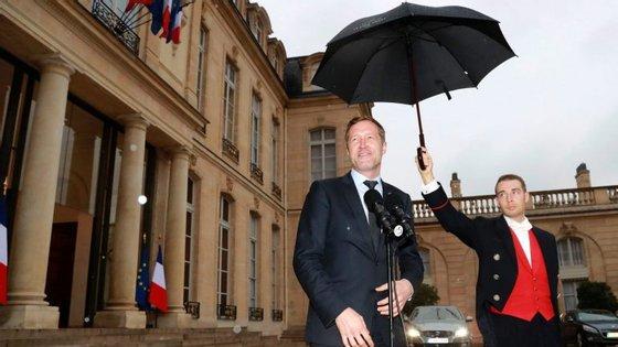 O socialista Paul Magnette é ministro-presidente da região da Valónia e presidente da câmara de Charleroi.