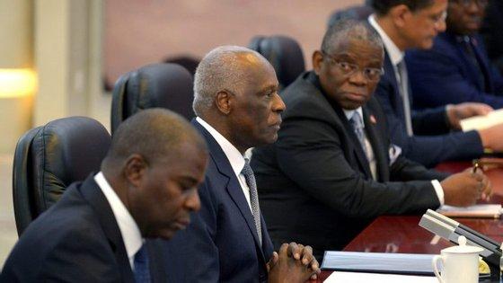 No anual discurso sobre o Estado da Nação, o Presidente angolano abordou o momento de crise do petróleo