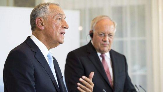 """Portugal deseja """"que a União Europeia e a Suíça tenham o melhor relacionamento possível"""""""