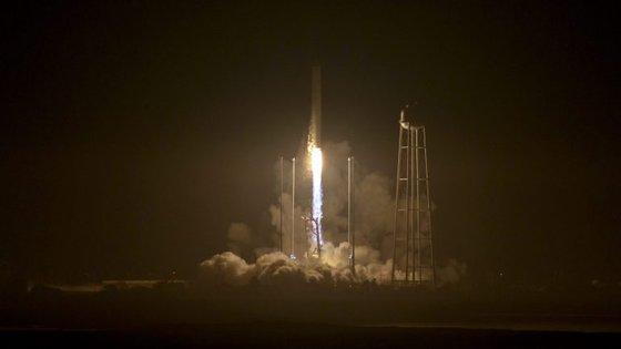 A nave de carga foi lançada a partir do centro espacial de Wallops Island, na Virgínia, nos Estados Unidos