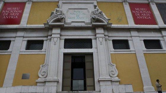 Entre outras, foram mostradas as obras 'Cristo a caminho do Calvário'