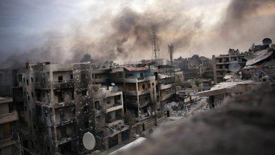 Alepo tornou-se um dos símbolos da guerra que devasta a Síria desde 2011