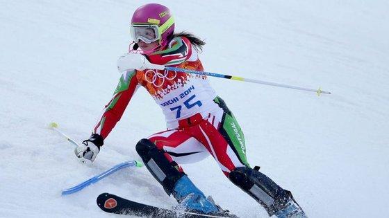 Esquiadora Olímpica portuguesa,Camille Dias, abandona a sua carreira