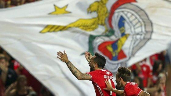 Benfica tarda em celebrar assim à grande na Liga dos Campeões