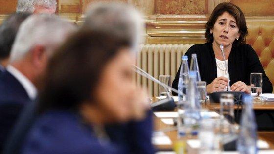 Estatuto profissional da GNR está em processo de negociação, afirma ministra da Administração Interna