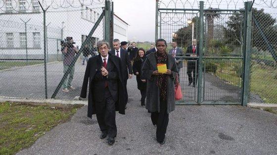 A ministra garantiu que a dívida não põe em causa a alimentação dos reclusos ou a segurança dos estabelecimentos prisionais