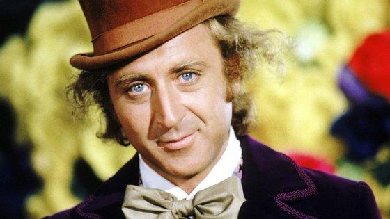 """Gene Wilder interpretou pela primeira vez o papel do excêntrico chocolateiro na adaptação de 1971 de """"Charlie e a Fábrica de Chocolate"""""""