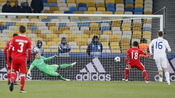 Um dos resultados que o nosso modelo falhou foi o do Benfica, que venceu em Kiev