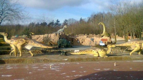 O início de construção do Parque Jurássico está previsto para 2017