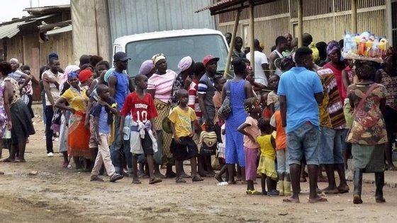 """OMS vai a Angola para ajudar na erradicação da doença da dranculose no país, também conhecida como a """"doença do verme"""""""