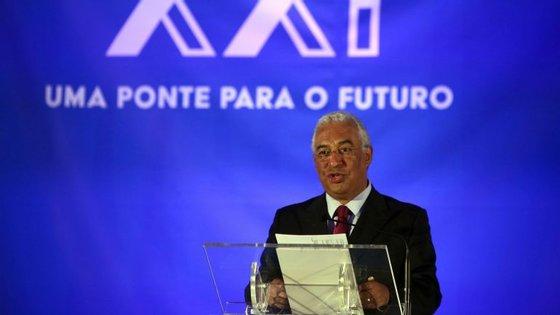Fundos transferidos para empresas vão, segundo António Costa, atingir os 450 milhões, em 2016