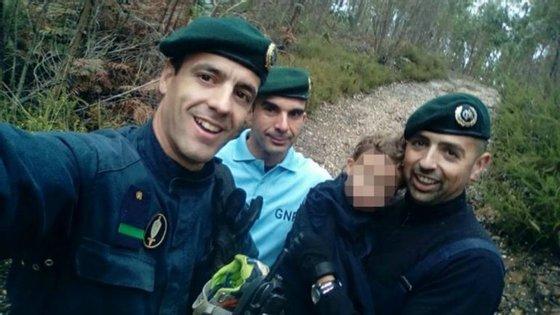 Martim foi encontrado na terça-feira pelos militares da GNR a dois quilómetros de casa