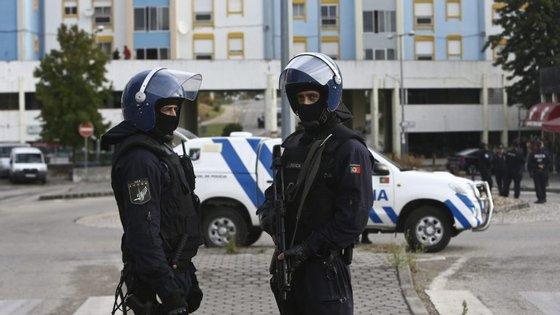 Ao todo, foram realizadas 32 buscas domiciliárias em Loures e Odivelas