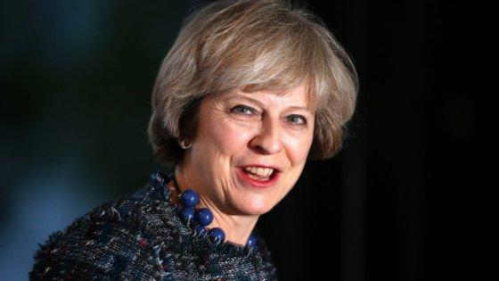 Em julho, Theresa May sucedeu a David Cameron na liderança do governo britânico