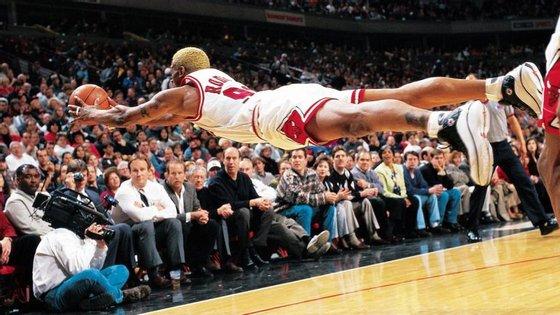Seja como o Dennis Rodman e não deixe escapar esta oportunidade