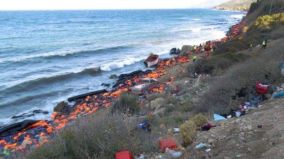 A rota mais perigosa é a que liga a Líbia a Itália, onde este ano se registou uma morte por cada 47 chegadas