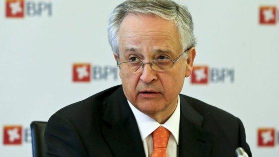 Fernando Ulrich, líder executivo do BPI